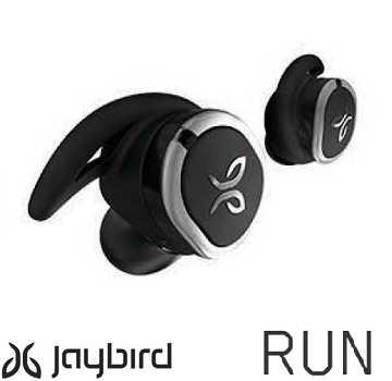 Jaybird RUN 真无线运动耳机 - 时尚黑