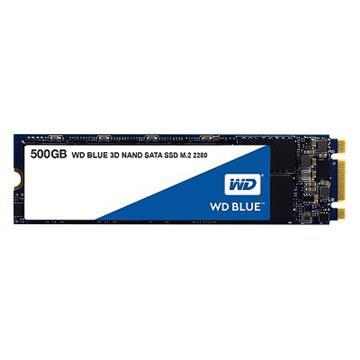 WD SSD Blue系列-500G固态硬盘(3D TLC)(WDS500G2B0B)