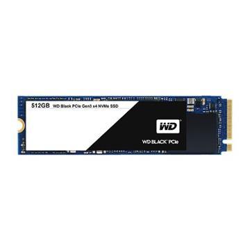 WD SSD Black系列-512G固態硬碟(PCIe 3.0)