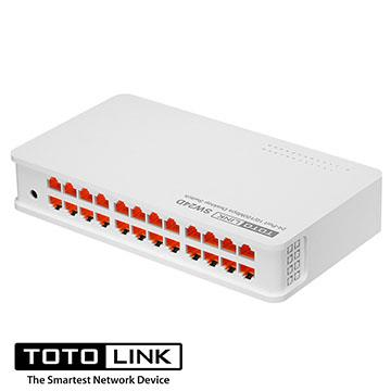 TOTO-LINK 桌上型24埠乙太網路交換器