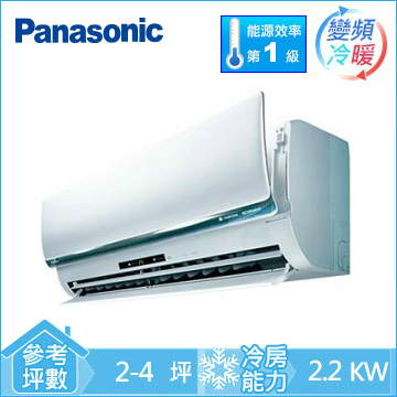 Panasonic ECONAVI+nanoe 1對1變頻冷暖空調
