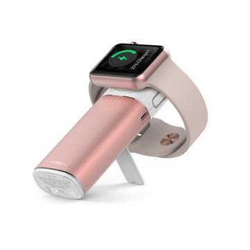 【6000mAh】Mipow 行動電源Apple Watch適用 - 玫瑰金