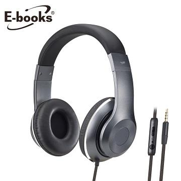 E-books S78立体声头戴式耳机麦克风(E-EPA168)