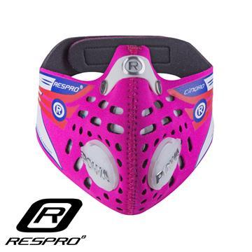 RESPRO CINQRO 运动款多重防护口罩(Pink X-Large)