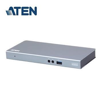 ATEN MAC用USB-C八合一扩充基座(UH3230-AT-A)