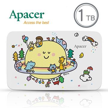 Apacer 2.5吋 1TB行動硬碟