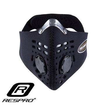 RESPRO TECHNO 防霾竞速骑士口罩(Black X-Large)