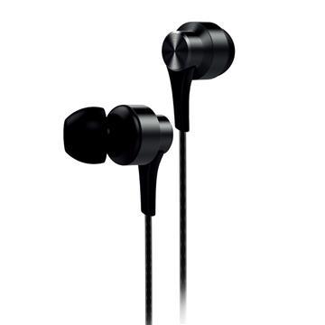 aiwa 入耳式耳机麦克风-黑(EW101BK)