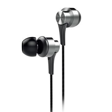 aiwa 入耳式耳机麦克风-银(EW101SR)