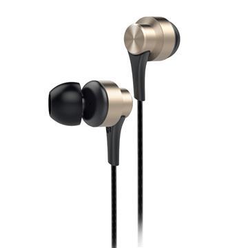 aiwa 入耳式耳机麦克风-金(EW101GN)