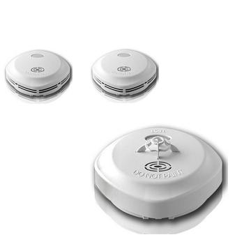 宏力住宅用火灾警报器-光电式x2+定温式x1(NQ3S)