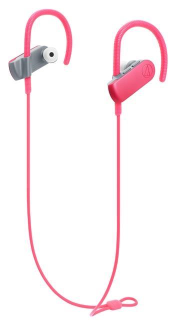 铁三角 SPORT50BT运动蓝牙耳机-珊瑚红(ATH-SPORT50BT PK)