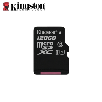 「公司貨」【UHS-I / 128G】金士頓 Kingston Canvas Select (C10) MicroSD記憶卡(SDCS/128GB)
