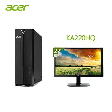 【同捆组】Acer Aspire XC-330 桌上型主机+【22型】ACER LED液晶萤幕(Aspire XC-330(A4-9120))