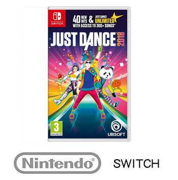 任天堂 Nintendo Switch  舞力全開 2018 Just Dance 2018 - 英文版
