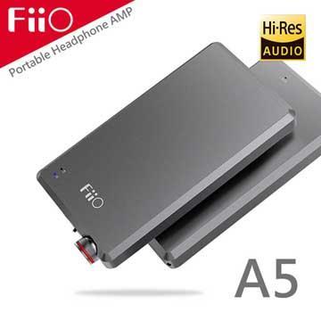 FiiO A5随身型耳机功率放大器-钛色(A5-SR)