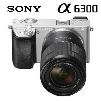 SONY α6300可交換式鏡頭相機KIT-銀