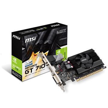 微星GT 710 2GD3 LP顯示卡