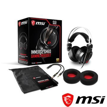 微星MSI Immerse GH60電競耳機