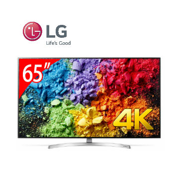 LG 65型1奈米4K IPS智慧连网电视(65SK8000PWA)