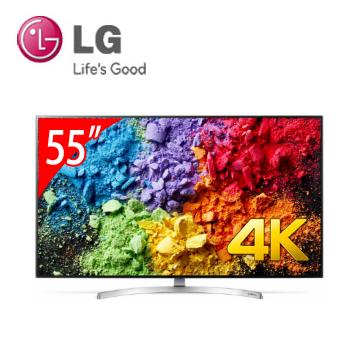 LG 55型1奈米4K IPS智慧连网电视(55SK8500PWA)