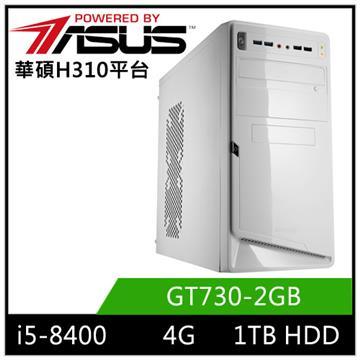 華碩H310平台[星岩鬥神]i5六核獨顯電玩機