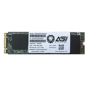AGI M.2 2280 360GB SATA固态硬盘(AGI360GSKAI188)