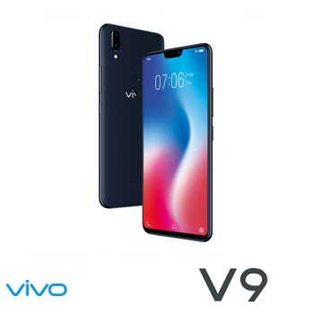 【4G / 64G】VIVO V9 6.3吋19:9智慧型手机 - 瓷釉黑(V9黑)