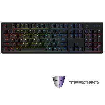 TESORO 剋龍劍機械式鍵盤-黑(青軸中文)(G11SFL(TW)BK&BL)