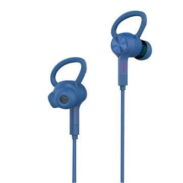 aiwa 爱华 入耳式蓝牙运动耳机 - 蓝色(EB601BE)