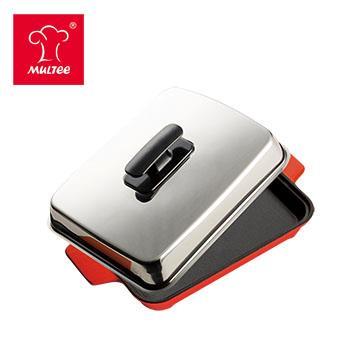 摩堤 A5 铸铁平烤盘 红(SE-02218-B04)