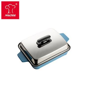 摩堤 A5 铸铁平烤盘 蓝(SE-02218-B06)