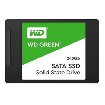"WD SSD Green系列-2.5""240G固态硬盘(3D TLC(WDS240G2G0A)"
