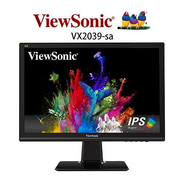 【20型】ViewSonic SuperClear IPS显示器(VX2039-SA)
