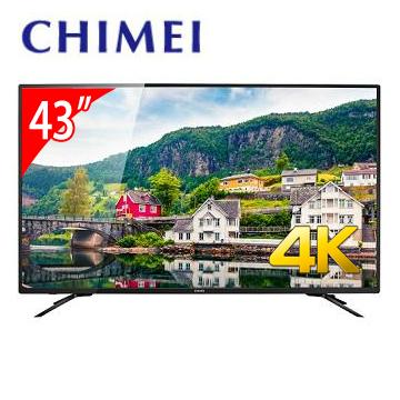 CHIMEI 43型4K低藍光智慧連網顯示器