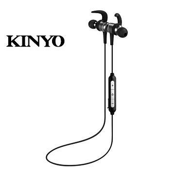 KINYO 蓝牙吸磁颈挂式耳机(BTE-3740)