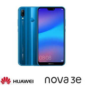 【4G / 64G】HUAWEI 華為 nova 3e 5.84吋全面屏雙鏡頭智慧型手機 - 克萊因藍(Nova 3e藍)