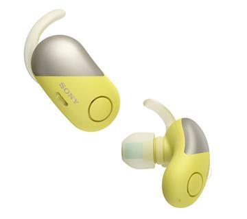 SONY WF-SP700N真无线蓝牙降噪耳机-黄(WF-SP700N/Y)