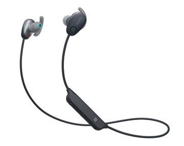 SONY WI-SP600N无线蓝牙降噪耳机-黑(WI-SP600N/B)