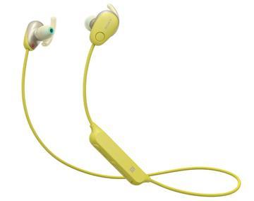 SONY WI-SP600N无线蓝牙降噪耳机-黄(WI-SP600N/Y)