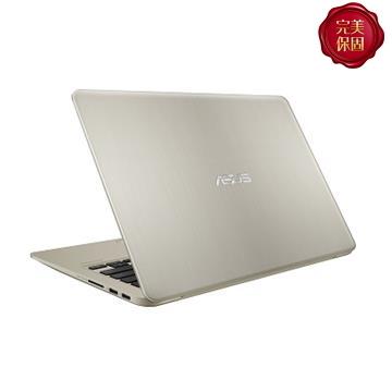 ASUS S410UN 14吋窄边框笔电(i7-8550U/MX150/4G/128G+1TB)(S410UN-0161A8550U)