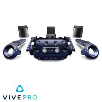 HTC Vive Pro 頭戴式虛擬實境裝置 - 專業版(99HANW011-00)