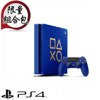 「限量手把組合包」【500G】PS4 Days of Play 限量特仕主機