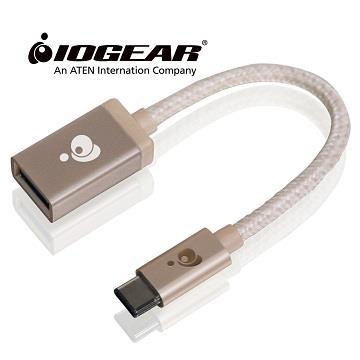 IOGEAR Type-C对USB A母转接器-金(G2LU3CAF10-GLD)