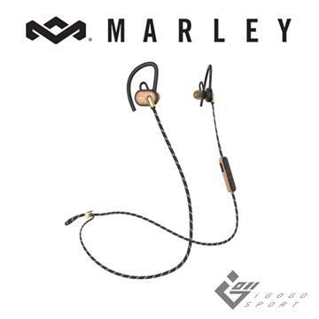 Marley Uprise藍牙運動耳機-金沙黑(EM-FE063)