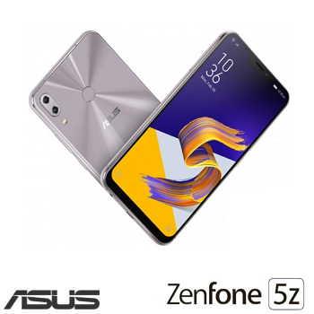 【6G / 128G】ASUS ZenFone 5Z 6.2吋AI双镜头智慧型手机 - 星芒银(ZS620KL银)