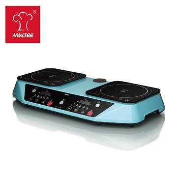 摩堤 双炉PerformaDuo IH智慧电磁炉 星光蓝(SE-02280-IH-03)