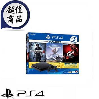 「自己選組合包」【500G】PS4 HITS Bundle同捆組合主機 4