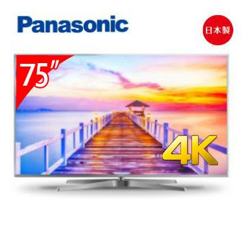 Panasonic 日本制75型六原色4K智慧电视(TH-75FX770)