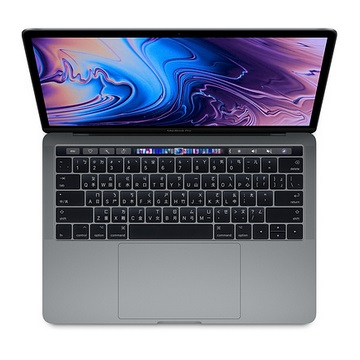"【13.3""太空灰】【256GB】MacBook Pro with Touch Bar 2.3G 4核/8G/IIPG655/(MR9Q2TA/A)"